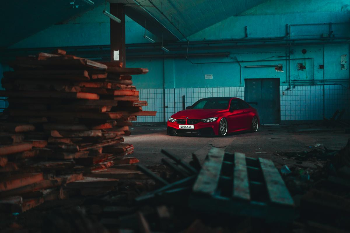 BMW M4 Poster 2