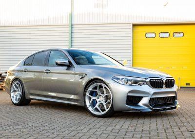 BMW M5 + Crypto